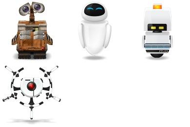 Wall-E Icons