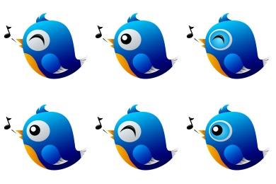 Twitter Birds Icons
