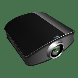 Projector black icon