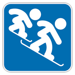 Snowboard Cross icon