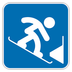 Snowboard Parallel Slalom icon