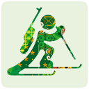 Sochi 2014 biathlon icon