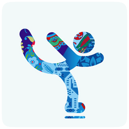 Sochi 2014 figure skating icon