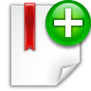 Actions-bookmark-new icon