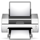 Actions-document-print icon