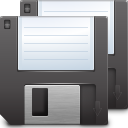 Actions-document-save-all icon