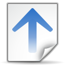 Actions go up search icon