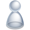 Actions im invisible user icon