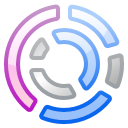 Actions office chart ring icon
