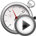 Actions player time icon