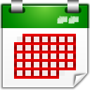 Actions view calendar month icon