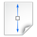 Actions-zoom-fit-height icon