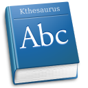 Apps kthesaurus icon