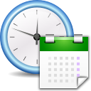 Apps preferences system time icon