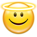 Emotes face angel icon