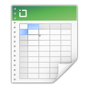 Mimetypes application vnd ms excel icon