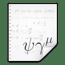Mimetypes application x kformula icon