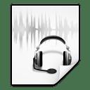 Mimetypes audio x speex plus ogg icon