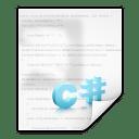 Mimetypes text x csharp icon