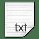 Mimetypes text x generic icon