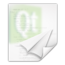 Mimetypes text x qml icon