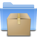 Places folder tar icon
