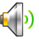Status audio volume medium icon