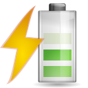 Status battery charging 060 icon