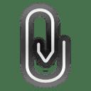 Status-mail-attachment icon