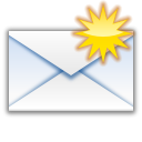 Status mail unread new icon