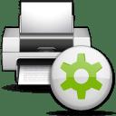Status printer printing icon