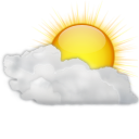 Status weather clouds icon