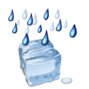 Status weather freezing rain icon