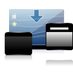 Actions dashboard show icon