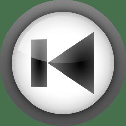 Actions media skip backward icon