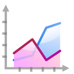 actions office chart area icon oxygen iconset oxygen team actions office chart area icon oxygen