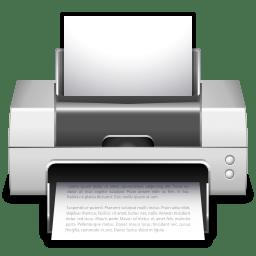Apps preferences desktop printer icon