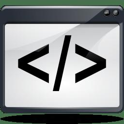 Apps preferences plugin script icon