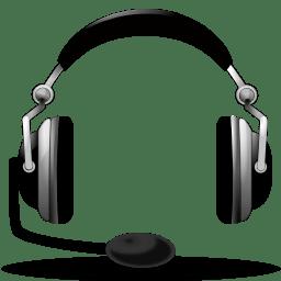 Devices audio headset icon