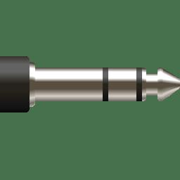 Devices audio input line icon