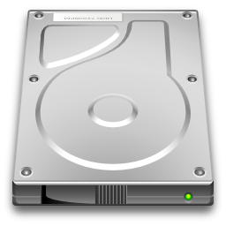 Devices Drive Harddisk Icon Oxygen Iconset Oxygen Team