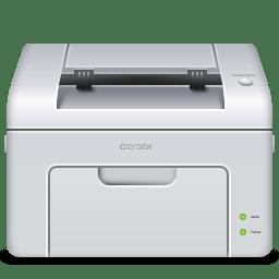 Devices printer laser icon
