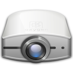 Devices video projector icon
