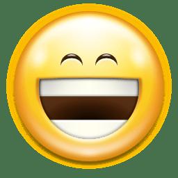 Emotes face laugh icon