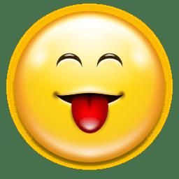 Emotes face raspberry icon