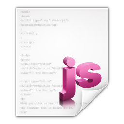 Mimetypes application javascript icon