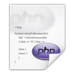 Mimetypes application x php icon