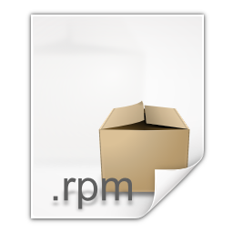 Mimetypes application x rpm icon