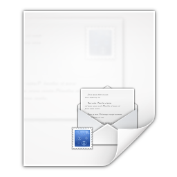 Mimetypes message rfc 822 icon
