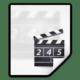 Mimetypes video x generic icon